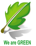 We are GREEN (click to learn more)